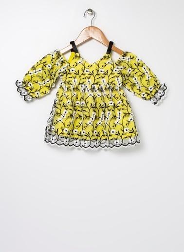 BG Baby BG Baby Sarı Elbise Sarı